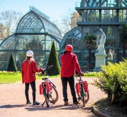 Destination Tête d'Or Park by electric bike - 1½ hours