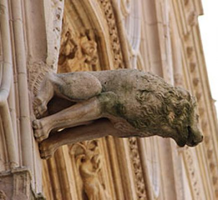 Hidden monsters and gargoyles