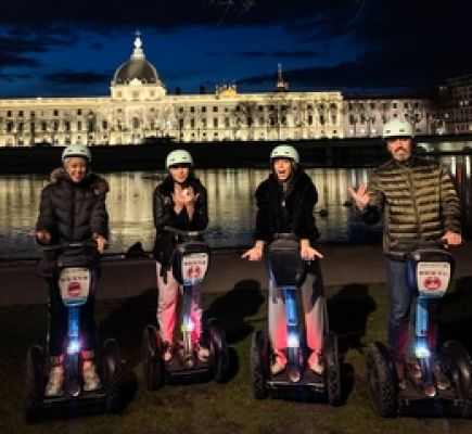 Twilight discovery tour of Lyon by Segway® - 1h30