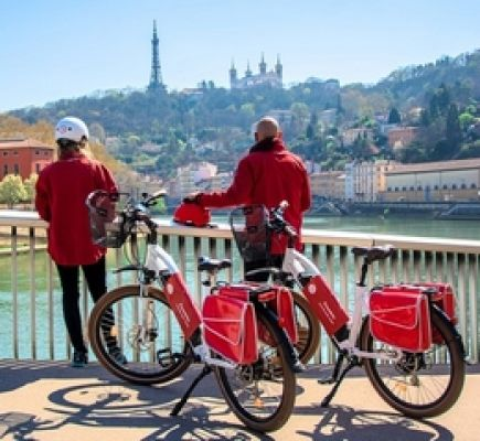 Essential Lyon by electric bike - 1 hour