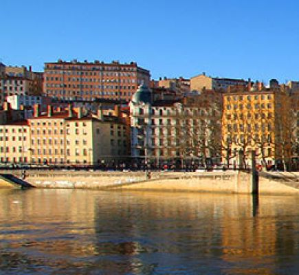 Croix-Rousse on the Saône side