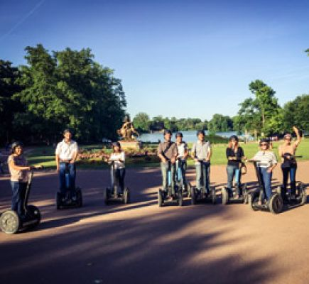 Go green all the way to Tête d'Or Park by segway® 2h