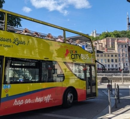 Lyon City Bus green and blue lines 2-day Pass