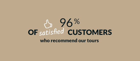 96% of customers are satisfied